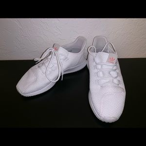Adidas Tubular Athletic Shoes White